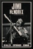 Jimi Hendrix - Copenhagen Poster