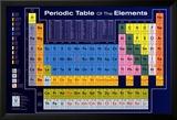 Periodensystem der Elemente Kunstdrucke