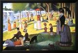 A Sunday on La Grande Jatte 1884, 1884-86 Poster van Georges Seurat