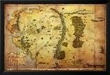 The Hobbit-Map Prints