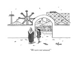 """We were not amused."" - New Yorker Cartoon Premium Giclee Print by Kaamran Hafeez"