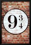 Platform 9 3/4 King's Cross Poster Print Fotografía