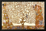 Gustav Klimt - El árbol de la vida Láminas