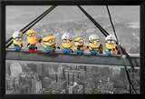 Despicable Me - Minions lunch on a skyscraper Posters