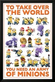 Despicable Me 2 - Take Over the World Posters