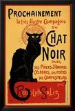 """Tournee der """"schwarzen Katze"""" (Chat Noir), ca. 1896, Französisch Poster"""