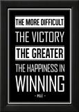 Pele Winning Quote Foto