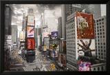 NEW YORK - Times square Aerial Prints