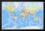 World Map-2011 English Posters