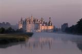 Chateau De Chambord Park - Val De Loire, France Fotografie-Druck von Florian Monheim