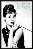 Audrey Hepburn Quote Prints