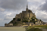 Mont St Michel, Normandy Photographic Print by David Churchill