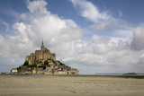 Mont St Michel, Normandy Lámina fotográfica por David Churchill