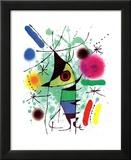 De zingende vis Poster van Joan Miró