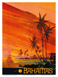 Bahamas - National Airlines Posters