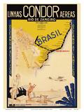 Rio De Janeiro, Brazil ポスター : クレメン