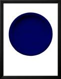 Blå skive, c. 1957 (IKB54) Posters av Yves Klein