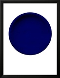 Blue Disk, c.1957 (IKB54) Poster by Yves Klein