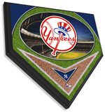 New York Yankees Team Logo Home Plate Plaque Wall Sign