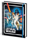 Star Wars - A New Hope A4 Notebook Lommebog