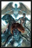 Dark X-Men No.1 Cover: Mystique, Dark Beast and Omega Print by Simone Bianchi