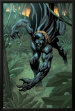 Black Panther 2099 No.1 Cover: Black Panther Print by Pat Lee