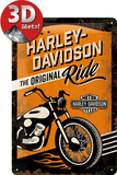 Harley-Davidson The Original Ride Plaque en métal
