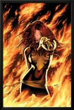X-Men: Phoenix - Endsong No.1 Cover: Phoenix, Grey and Jean Prints by Greg Land