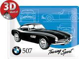 BMW - Classics 507 Plaque en métal
