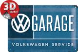 VW Garage Plaque en métal