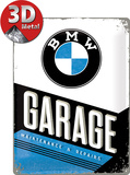 BMW - Garage Plaque en métal