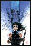New Avengers No.39 Cover: Echo and Wolverine Poster av David Mack