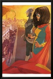 Ms. Marvel (Kamala Khan),Captain Marvel Featuring Ms. Marvel (Kamala Khan), Captain Marvel Posters by Adrian Alphona
