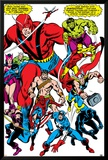 Giant-Size Avengers No.1 Group: Giant Man Plakater av John Buscema