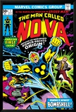 Nova: Origin Of Richard Rider - The Man Called Nova No.1 Cover: Nova Kunst av John Buscema