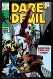 Daredevil No.47 Cover: Daredevil Swinging Poster by Gene Colan