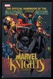 The Official Handbook Of The Marvel Universe: Marvel Knights 2005 Cover: Black Panther Plakat av Pat Lee