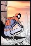 Spider-Man: Swing Shift Directors Cut Cover: Spider-Man Plakat av Phil Jimenez