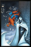 Marvel Team Up No.7 Cover: Moon Knight and Spider-Man Art by Scott Kolins