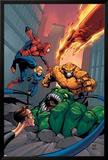 Spider-Man Team-Up Special No.1 Cover: Spider-Man Láminas por Shane Davis