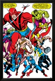 Giant-Size Avengers No.1 Group: Giant Man Posters av John Buscema