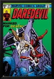 Daredevil No.159 Cover: Daredevil Poster van Frank Miller