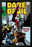 Daredevil No.47 Cover: Daredevil Swinging Prints by Gene Colan