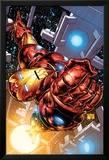 The Invincible Iron Man No.1 Cover: Iron Man Poster av Joe Quesada