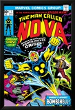 Nova: Origin Of Richard Rider - The Man Called Nova No.1 Cover: Nova Plakater av John Buscema