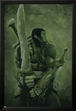 Skaar: Son of Hulk No.11 Cover: Skaar Posters av Travis Charest