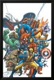 Marvel Team Up No.1 Cover: Wolverine Prints by Scott Kolins