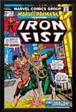 The Immortal Iron Fist: Marvel Premiere No.16 Cover: Iron Fist and The Scythe Print by Gil Kane