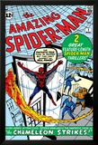 Amazing Spider-Man No.1 Cover: Spider-Man Pósters por Steve Ditko