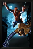 Ms. Marvel Annual No.1 Cover: Spider-Man and Ms. Marvel Poster by Greg Horn